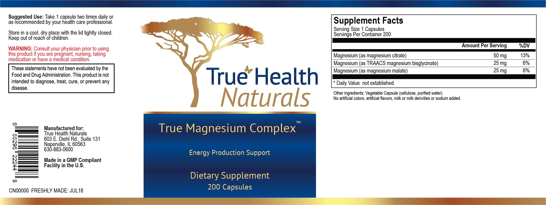True Magnesium Complex Supplemet