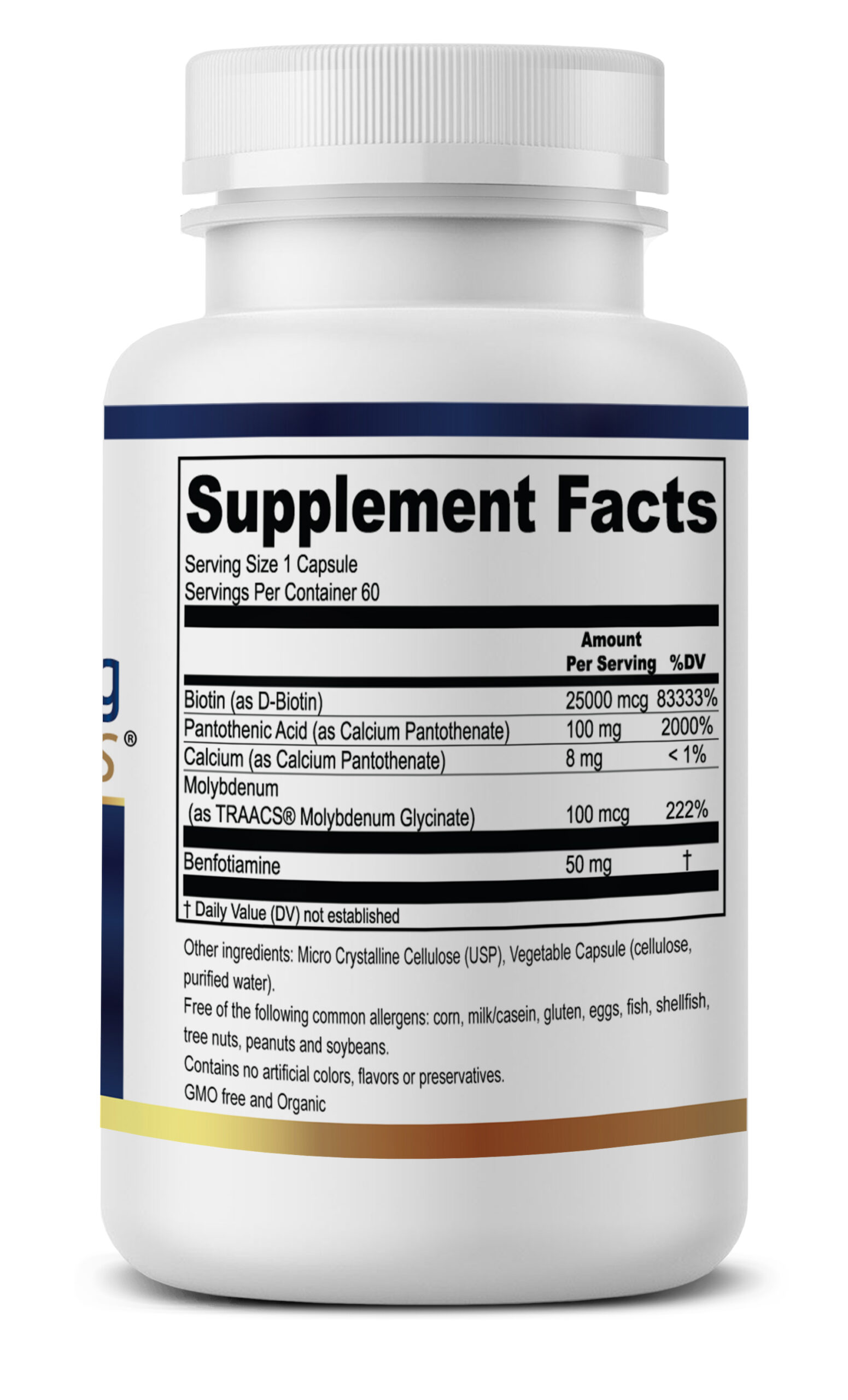 motor-connect label supplement facts