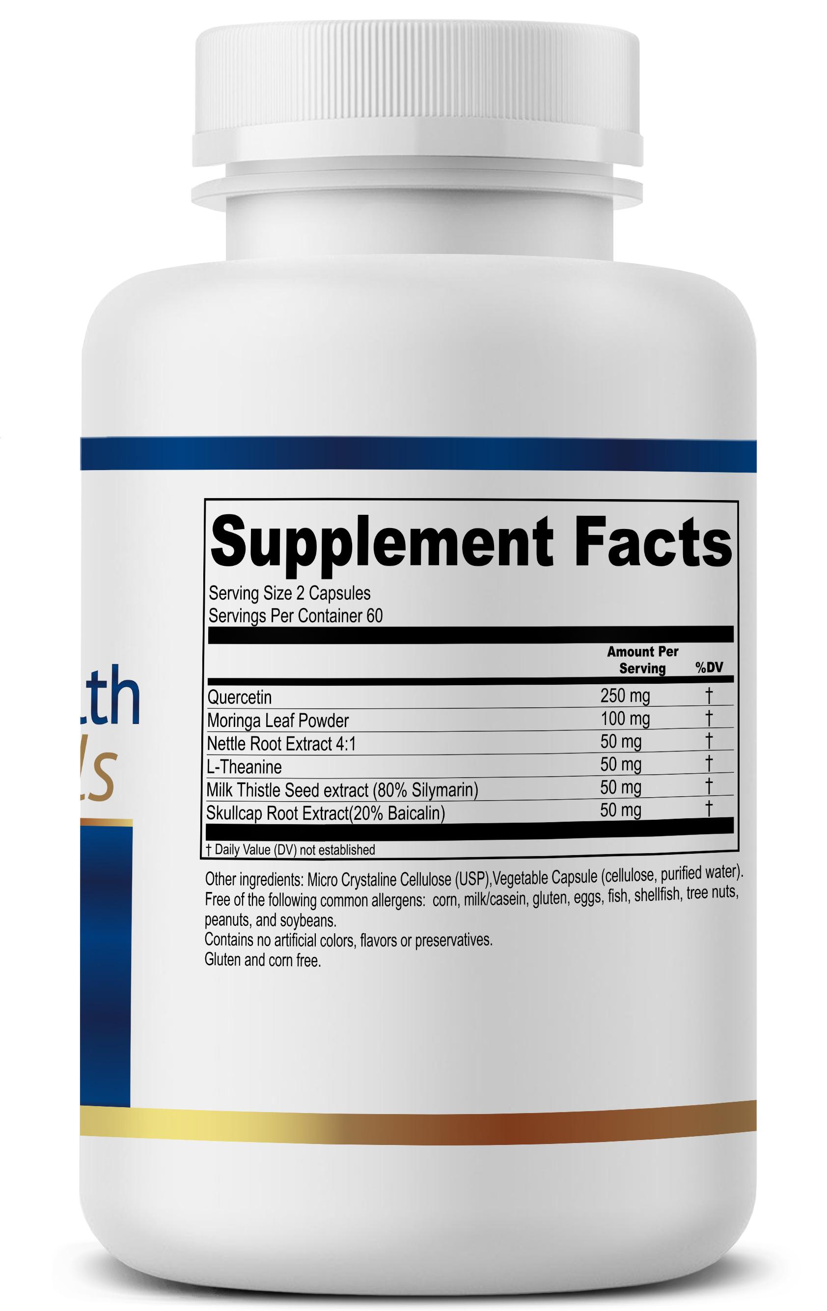 Aller-Mast Supplement Facts