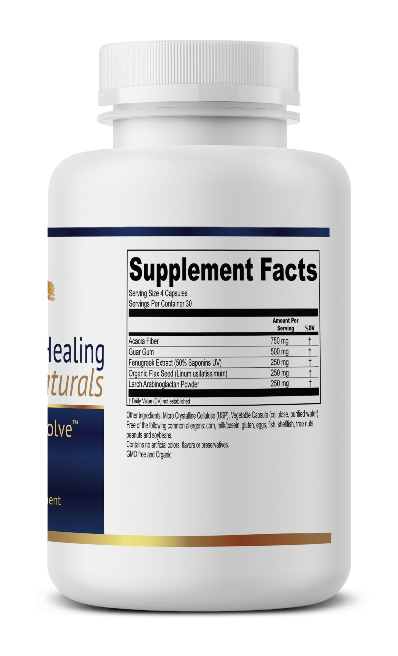 PreBiome Supplement Facts