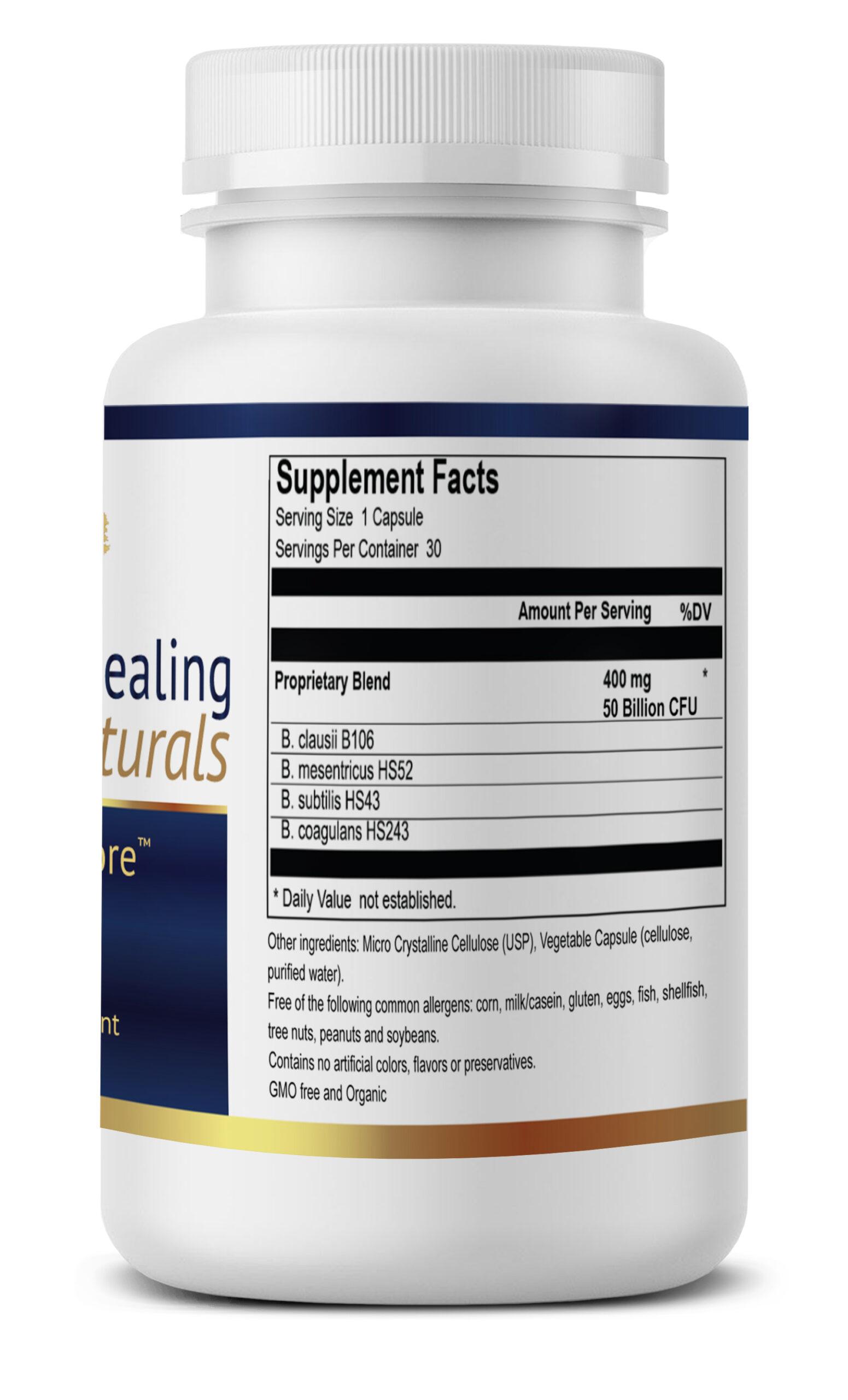 TrueBio Supplement facts